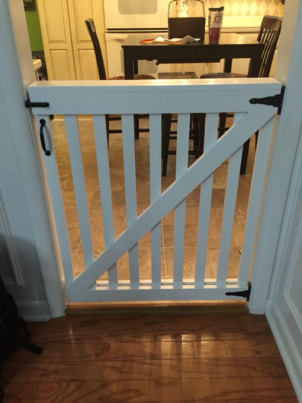 Baby Dog Gate In 2019 Diy Dog Gate Baby Gates Pet Gate