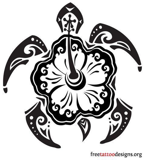 The Honu Or Hawaiian Sea Turtle Is The Hawaiian Symbol Of