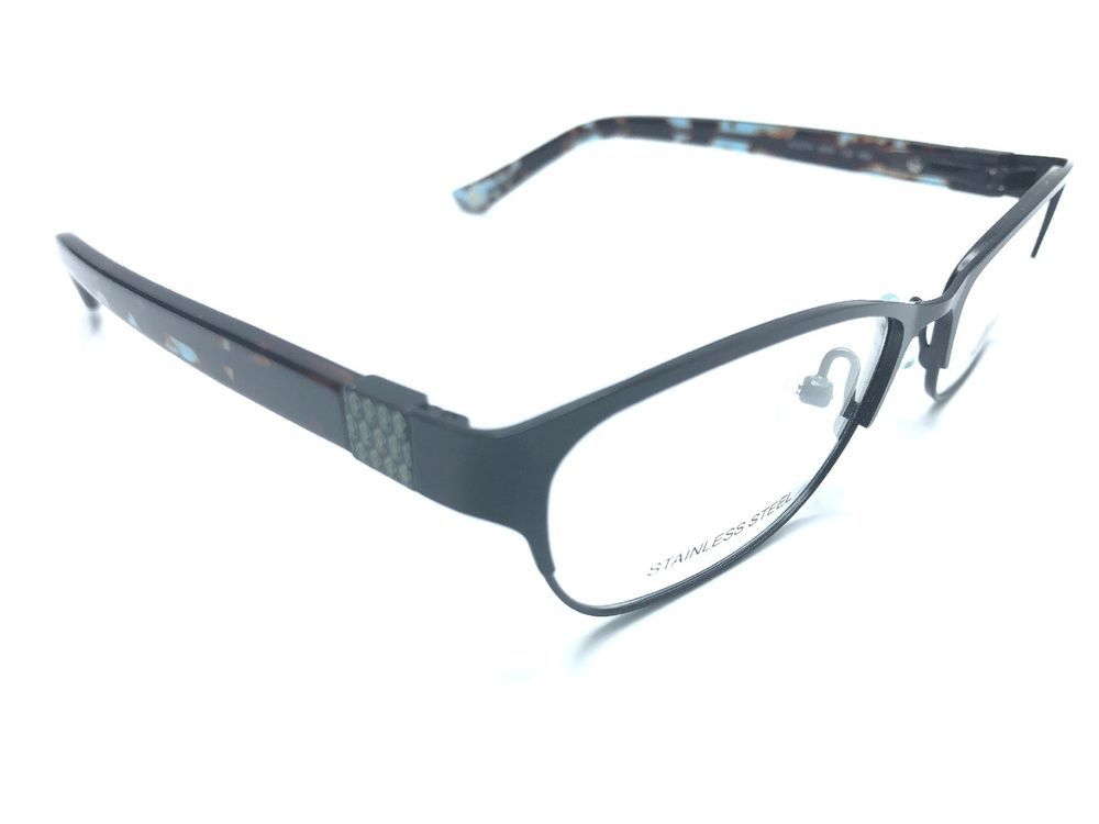 Authentic Jennifer Lopez JLO Eyeglass Frames JLO274 0003 Black 49-16 ...