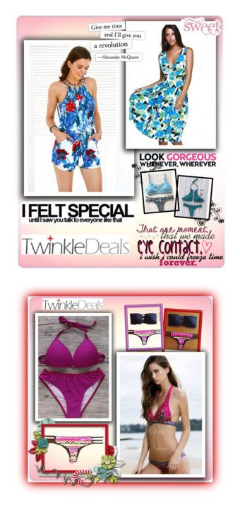 """""""II Collection Twinkledeals"""" by merryyyyy-132 ❤ liked on Polyvore featuring vintage"""