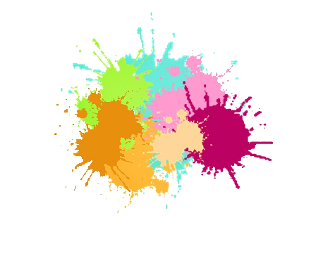 manchas de pinturas vectorizadas - imagui | fondos | pinterest