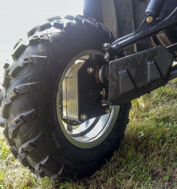 Portal Axle Design : Rockcrusher side by portal axle kit gear
