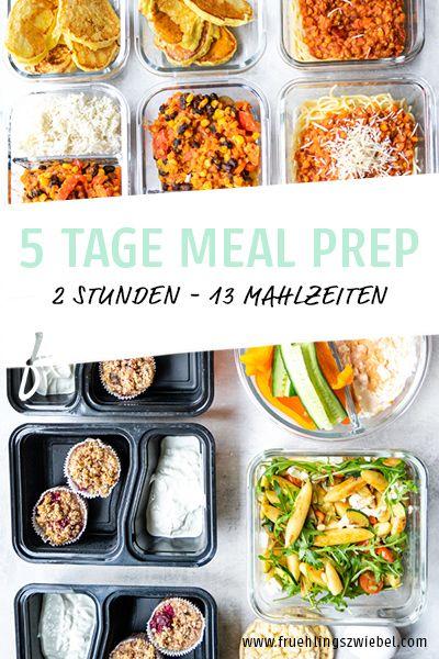 5 Tage Meal Prep