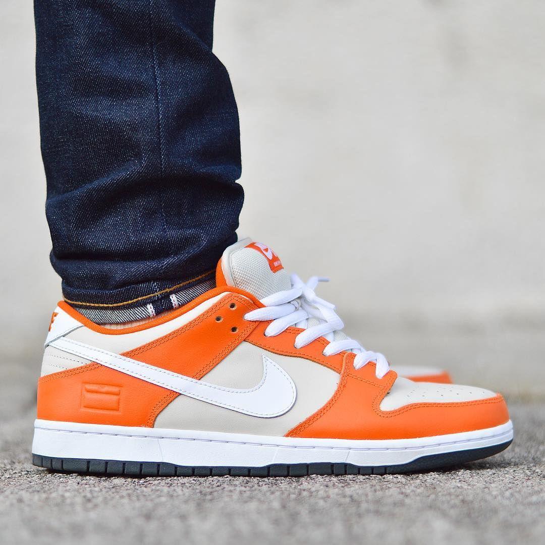 Orange Box Nike SB Dunk Lpw | Tenis