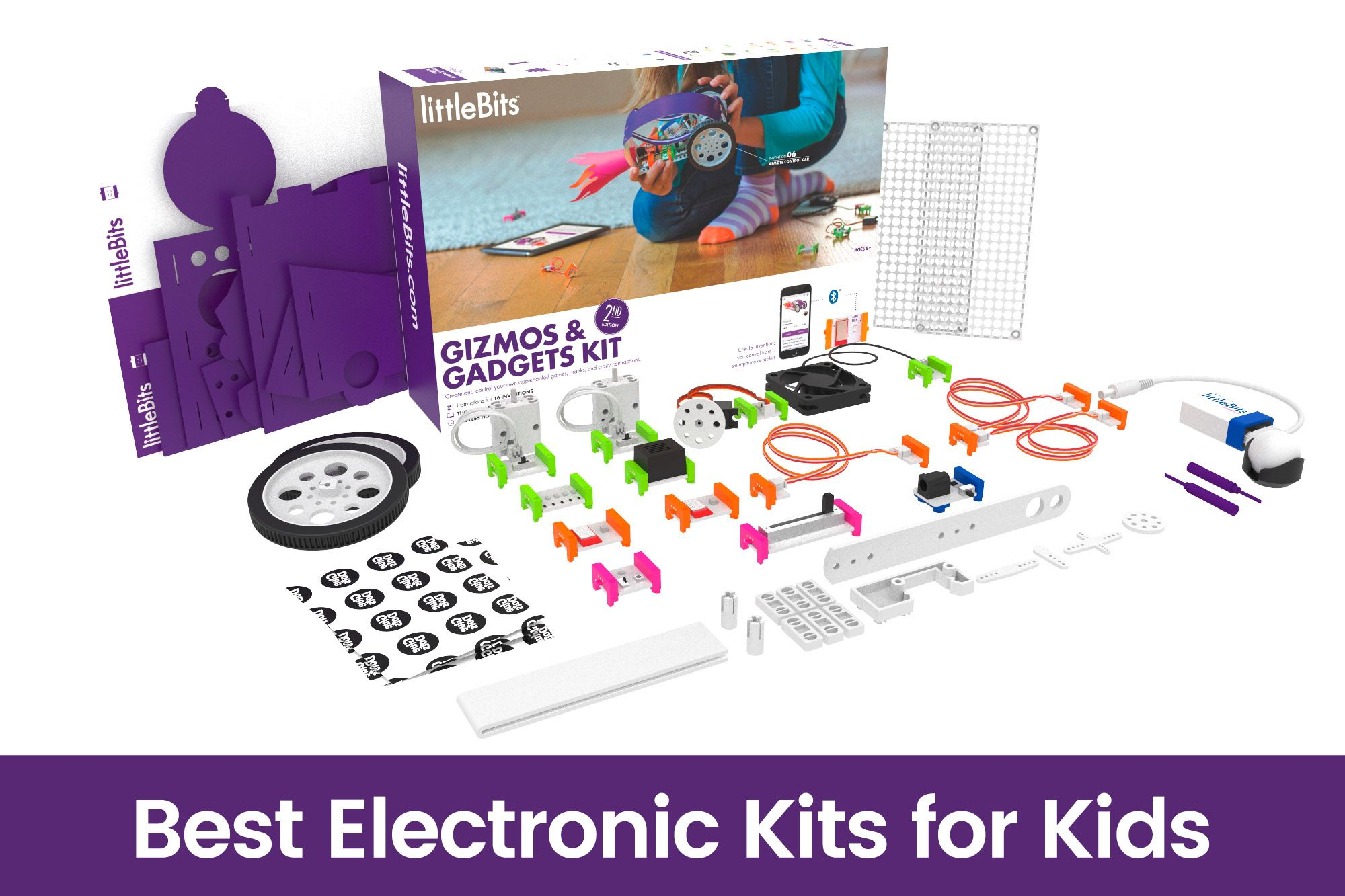15 Best Electronic Kits for Kids Learn about Circuits