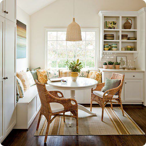 Connected To The Kitchen Dining Rooms And Eating Area Designs: Creative Dining & Breakfast Nooks