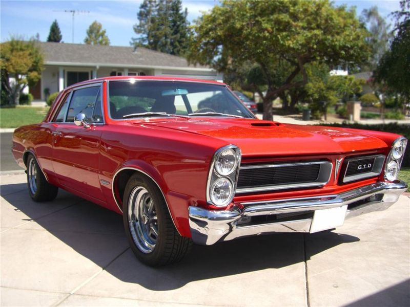The Hottest Muscle Cars In the World: 1965 Pontiac GTO-Ten Fastest ...