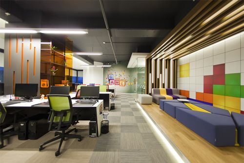 Chic Contemporary Spaces Rendered By Anh Nguyen: Renkmobil Software INC Office Design Picture