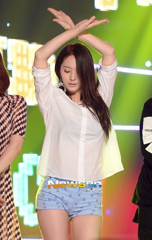 Krystal fx | F(x) Stage Outfit | Gym shorts womens ...