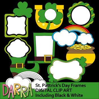 St Patrick S Day Clipart Frames Clip Art St Patricks Day Clipart Frame Clipart Clip Art