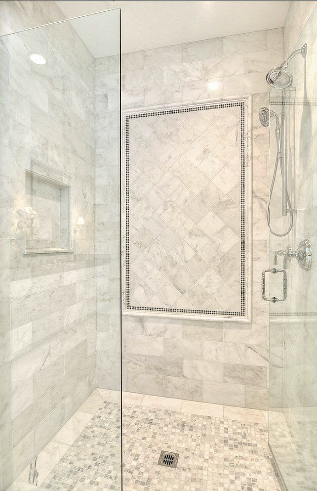Lovely Master Bath Shower Ideas Bathroom Shower. Marble Shower ...