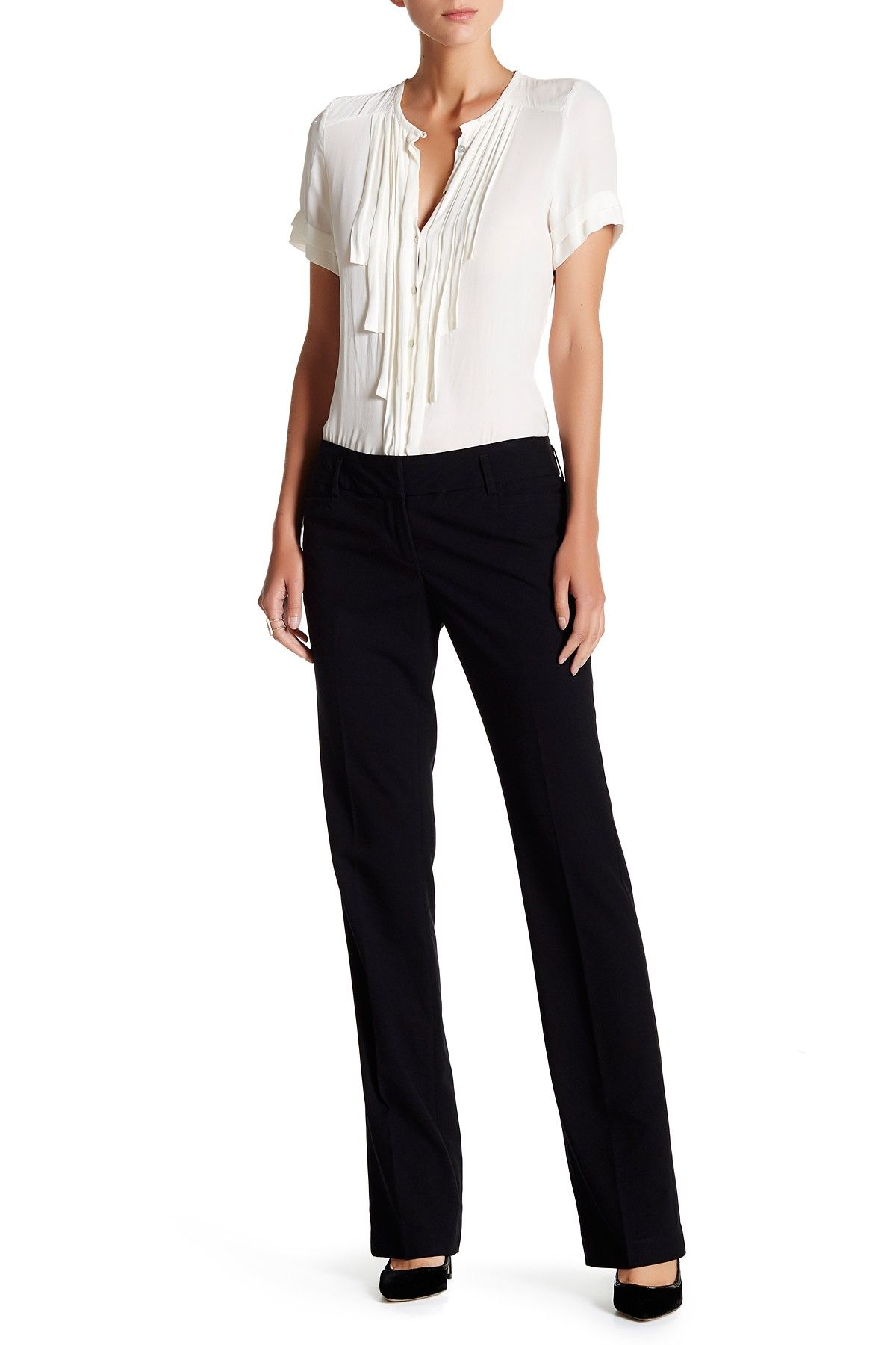 Amanda Chelsea Signature Leighton Trousers Nordstrom Rack Office Outfits Job Interview Dress Women Pants Casual