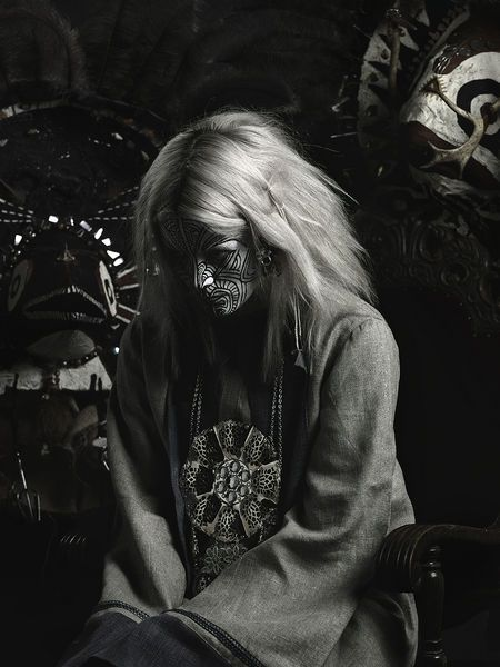 If #LadyGaGa had an evil Swedish twin, it would be  Karin Dreijer Andersson aka Fever Ray. And when I get PMSy (which I never do), I would dress like her just to mess with people.