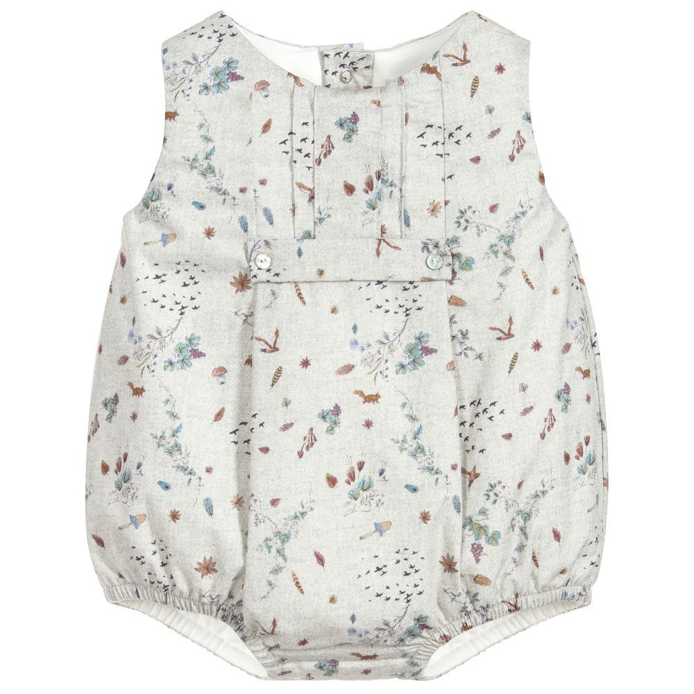 be80180d6 Baby Girls Grey Cotton Shortie