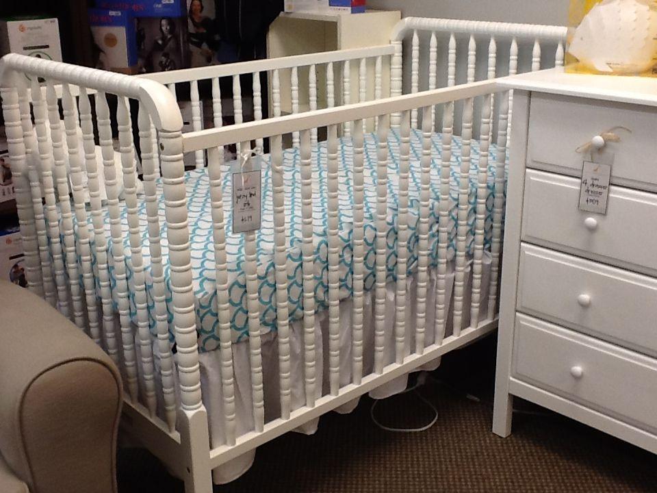 Davinci Jenny Lind Crib White