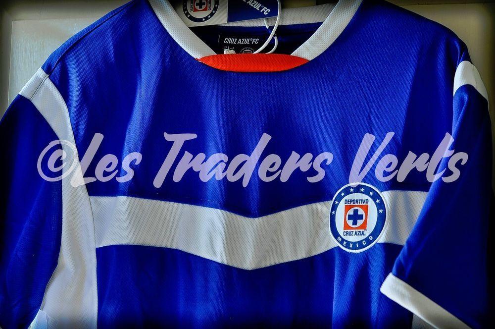363e4e3aab1 CRUZ AZUL FC Men s Jersey Blue White Size XXL NWT Producto Oficial New  Playera  CruzAzulFC  CruzAzul