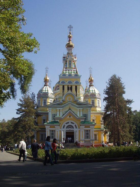 I've been here!  Almaty Kazakhstan