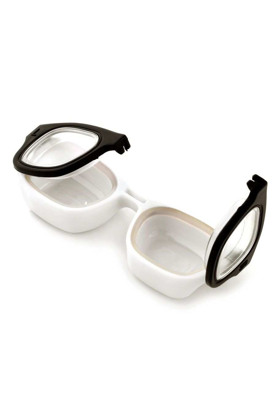 For Four Eyes Only Contact Case Mod Retro Vintage Keychains Modcloth Com Contact Case Contact Lenses Eyewear Store
