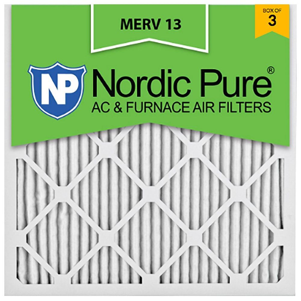 Best furnace air filters for allergies - Furnace Home Ac Air Filter 20x20x1 Hvac Allergy Dust Merv 13 11 12 Nordic Pure
