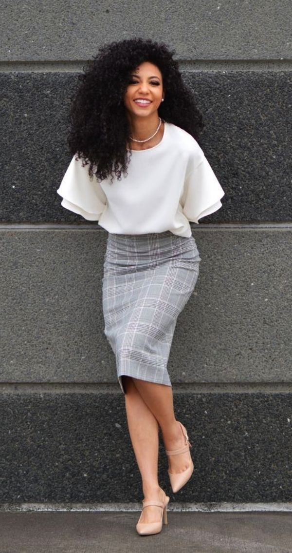 57 Non-Boring Work Outfits Ideas for Career Women - Fashion Enzyme #womensworkoutfits