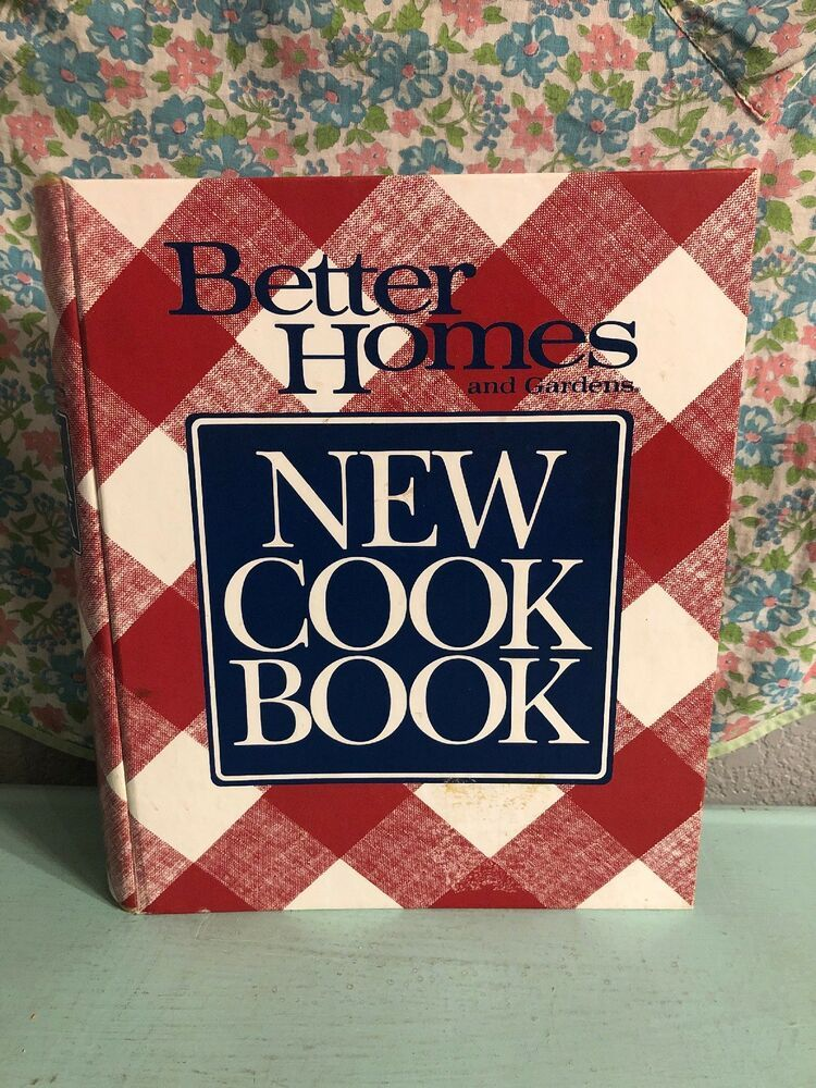 Vintage Better Homes and Gardens New Cook Book 1990 10th ...