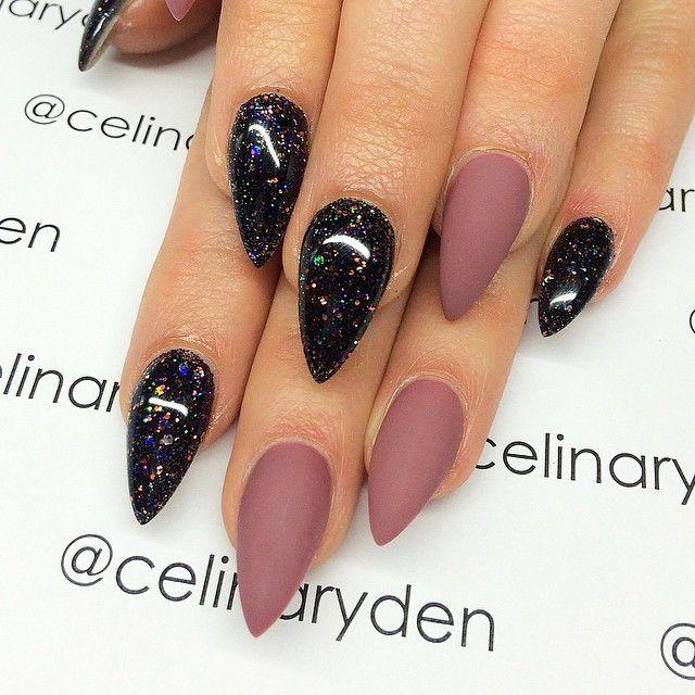 Galaxia y mate   Uñas   Pinterest   Galaxias, Diseños de uñas y Uñas ...