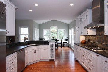 Austere Gray Sherwin Williams Lorton Virginia Kitchen