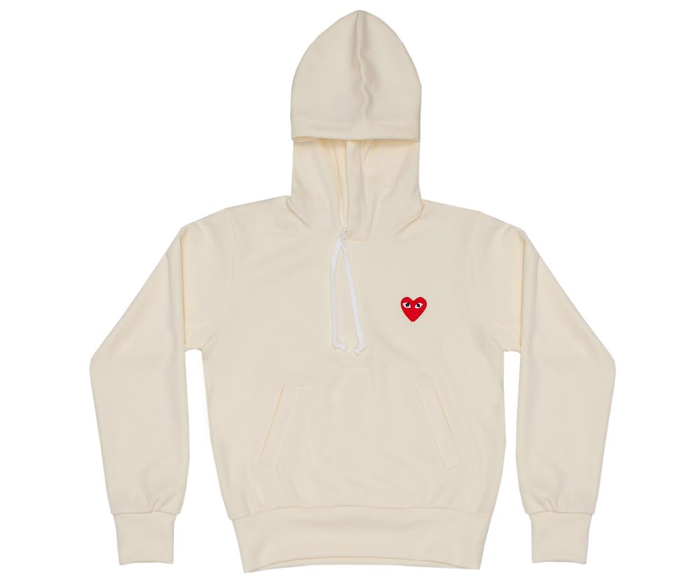 cf5ed0637 CDG Play Sweatshirt (Ivory T173) Billionaire Boys Club, Cute Sweaters, Cute  Shorts