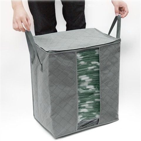 Foldable Storage Bins Clothes Blanket Closet Organizer Bag Case is part of Clothes Organization Bins - 500+ SOLD, LAST DAY TO BUY!  Buy 2 Enjoys 10% OFF Coupon 10OFF   Item ID C1246 Description ClosureZipper StyleCasual DecorationSilvertone hardware Package included 1  Bag   Shipping Receiving time   Processing time + Shipping time Return Policy Our Guarantee Return or exchange within 7 days from the delivered date  Request 1  Items received within 7 days from the delivered date  2  Items received unused, undamaged and in original package  3  Return shipping fee is paid by buyer
