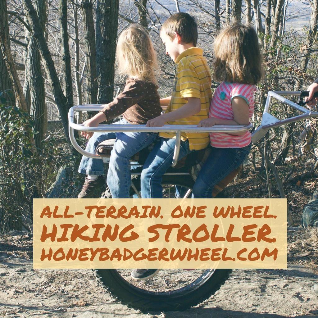 hiking stroller honey badger wheel