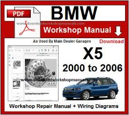 BMW X5 E53 Workshop Manual 2000 to 2006 PDF | Bmw x5 e53, Bmw x5, BmwPinterest