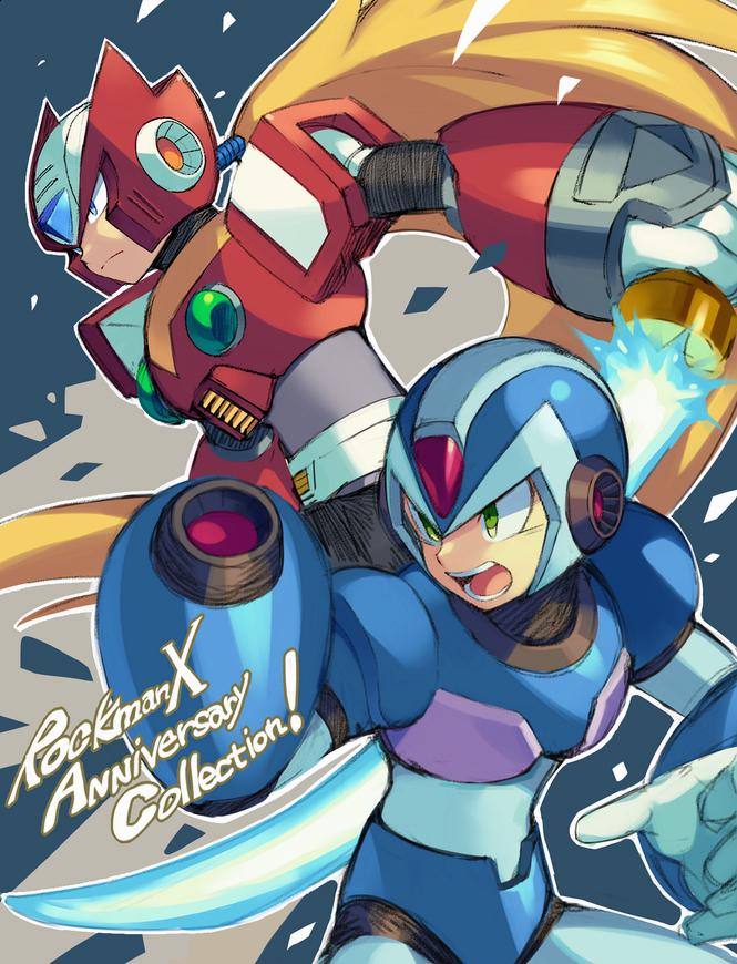 Megaman X And Zero Mega Man Art Mega Man Capcom Art