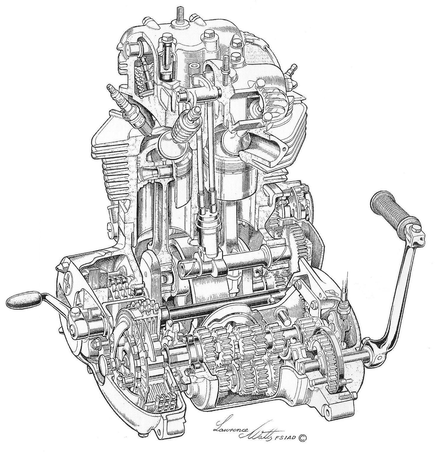 Triumph 750 5v