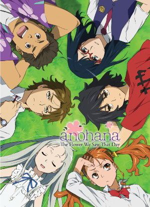 Anohana The Flower We Saw That Day Movie Bluray BD