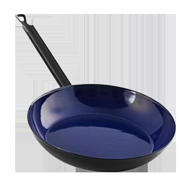 Riess enamel frying pans