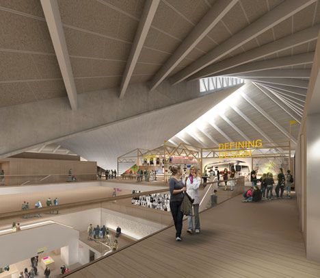Good Londonu0027s Design Museum Have Unveiled Designs By British Architect John  Pawson For Their New Home In The Former Commonwealth Institute Building In  West ...