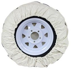 Camco Vinyl Spare Tire Cover 28 Diameter Colonial White Wheel Cover Rv Cover