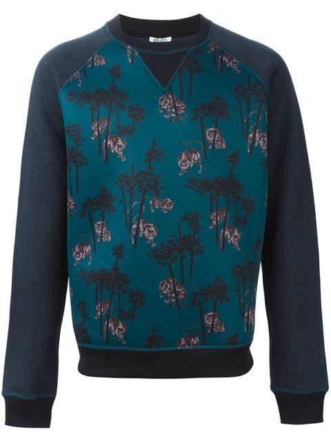 3119a127 KENZO 'Bamboo Tiger' Sweatshirt. #kenzo #cloth #sweatshirt | Kenzo ...