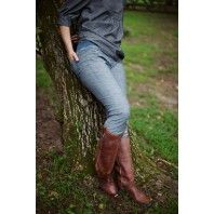 Simple Skinny Jeans Sewing Pattern by Sew Liberated