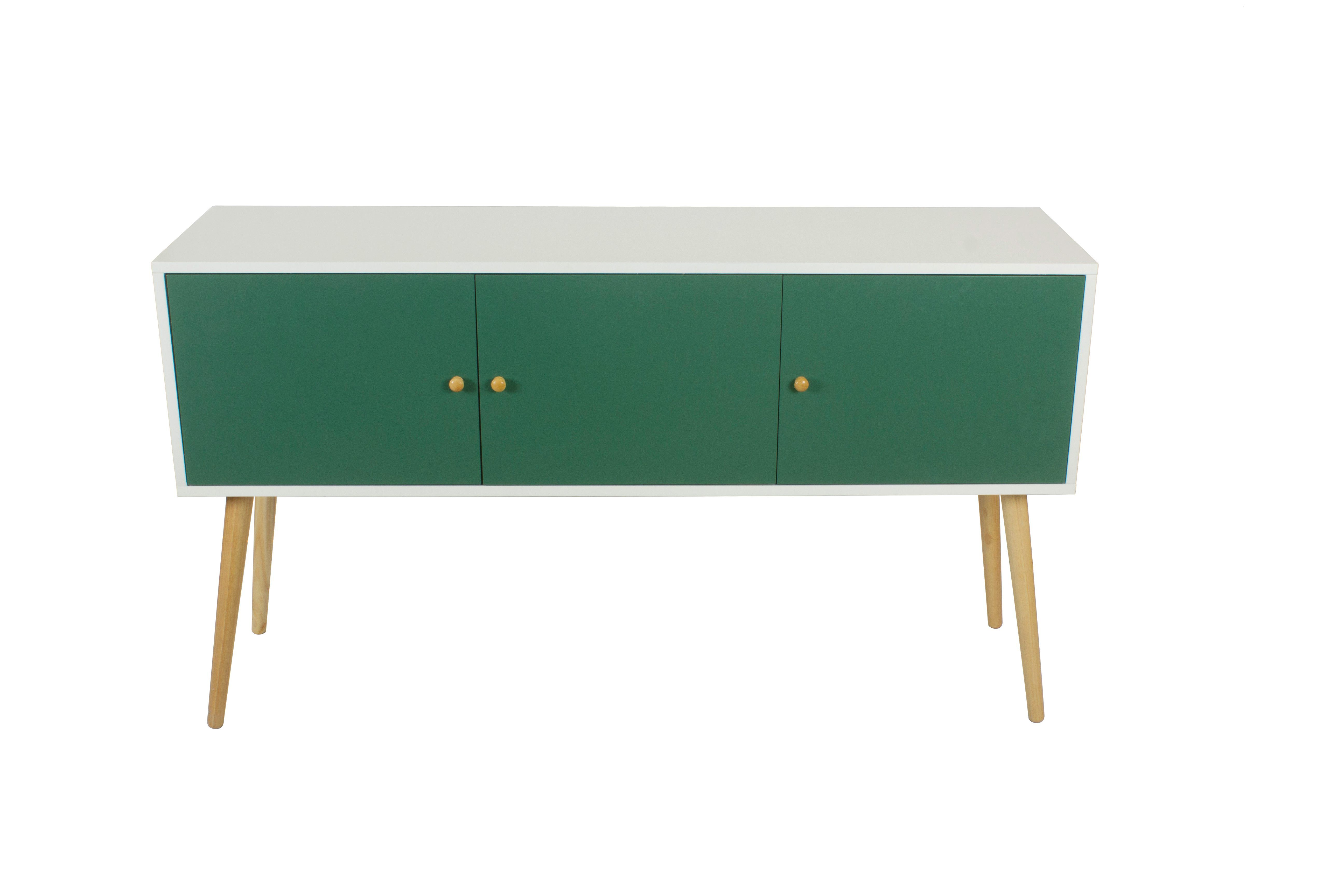 VertJungle Deco VitrineEt Manon 3 Portes Buffet kTPlwOZiuX