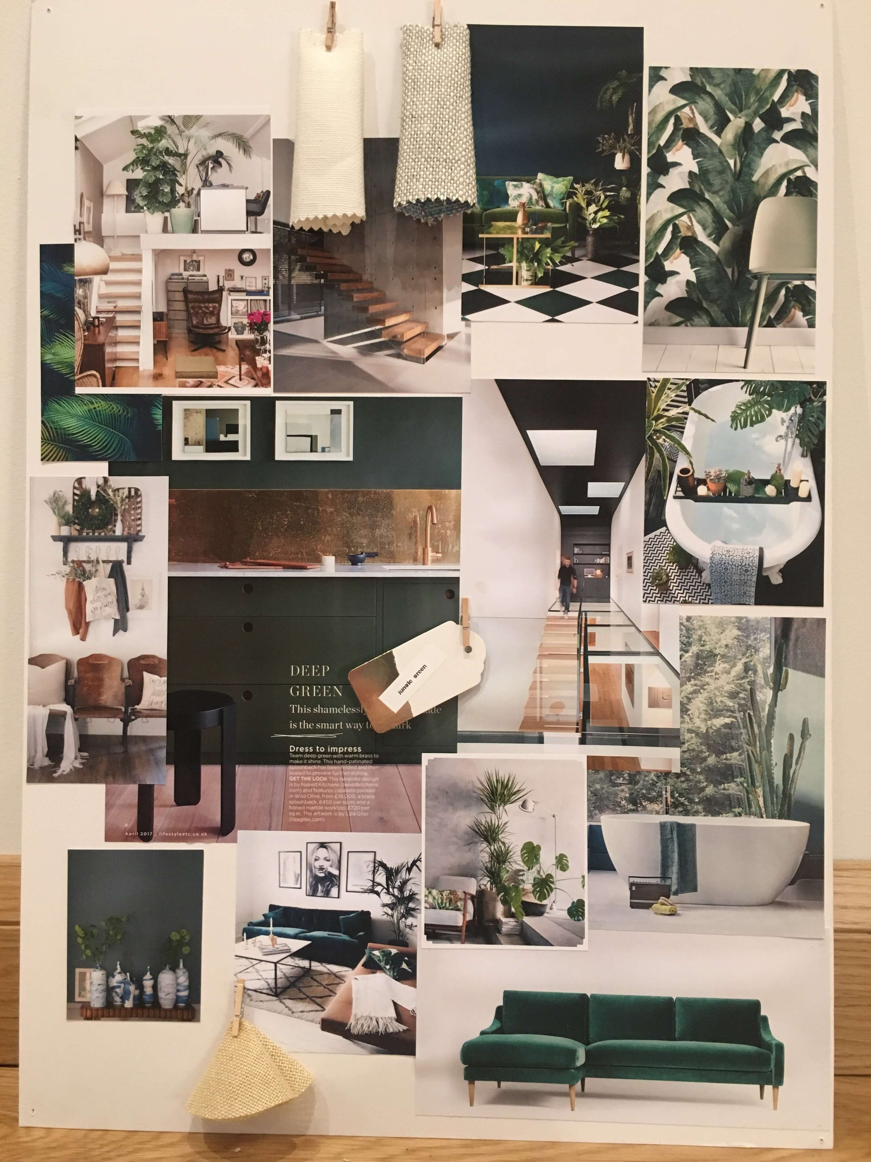 Brainstorm Interior Design Presentation Boards On A Tight Deadline