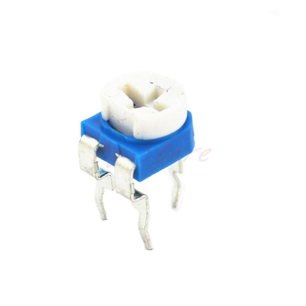 10pcs Rm065 4 7k Ohm Trimmer Trim Pot Variable Resistor Potentiometer 6mm 472 Light Accessories Resistor Cool Things To Buy