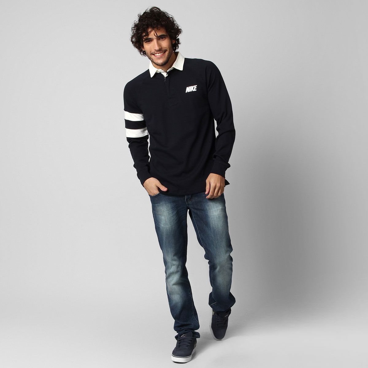 Polo Nike Rugby M/L