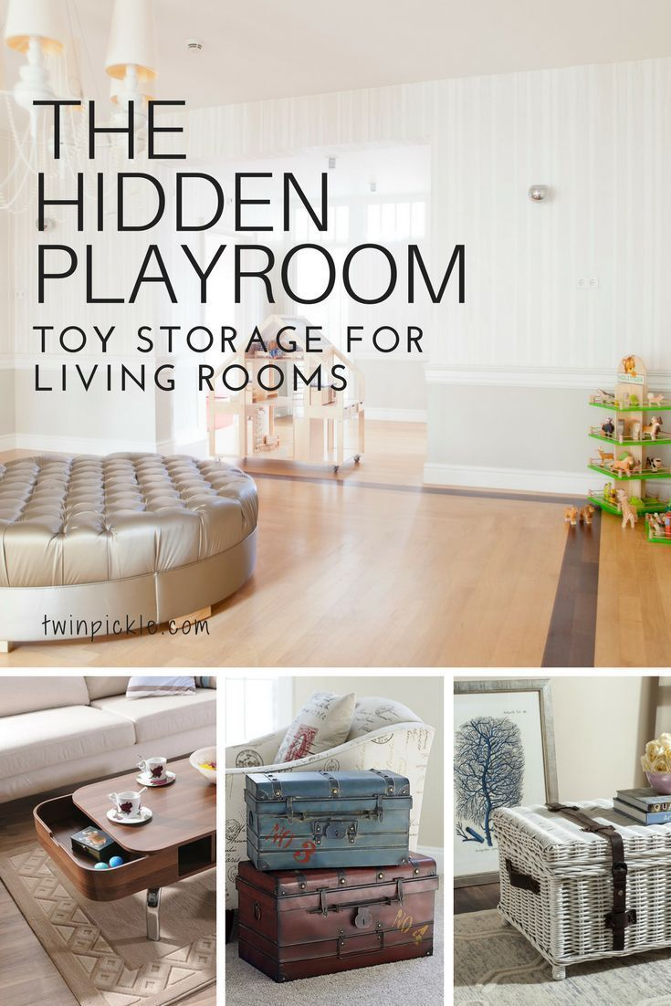 Toy Storage for Living Rooms: The Hidden Playroom | Invite friends ...