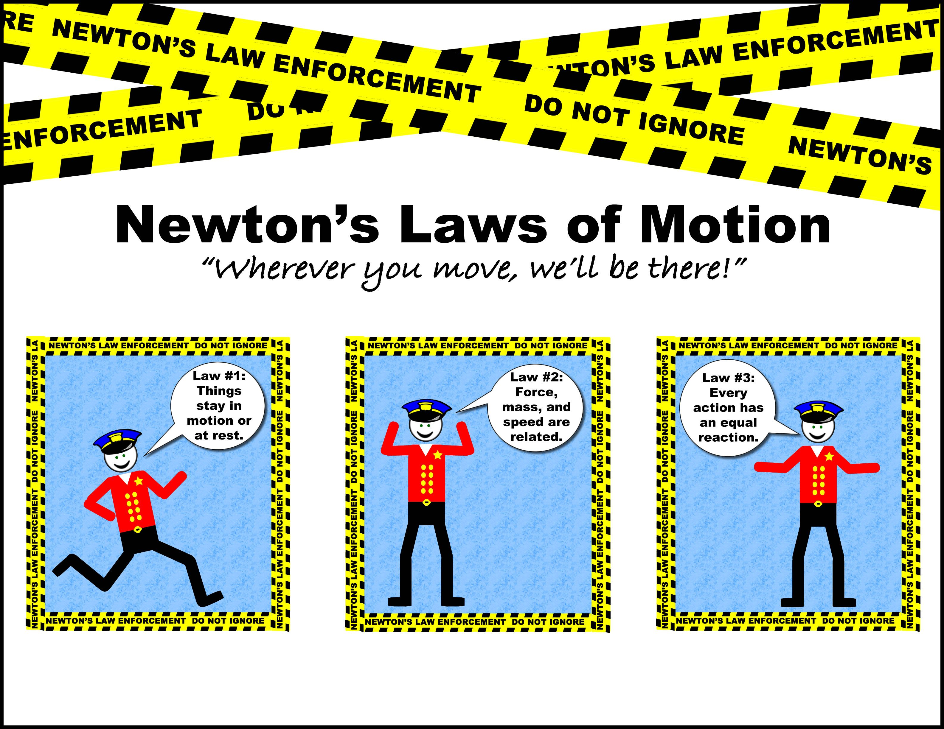 Newton S Laws Newtons Laws Newtons Laws Of Motion Force And Motion