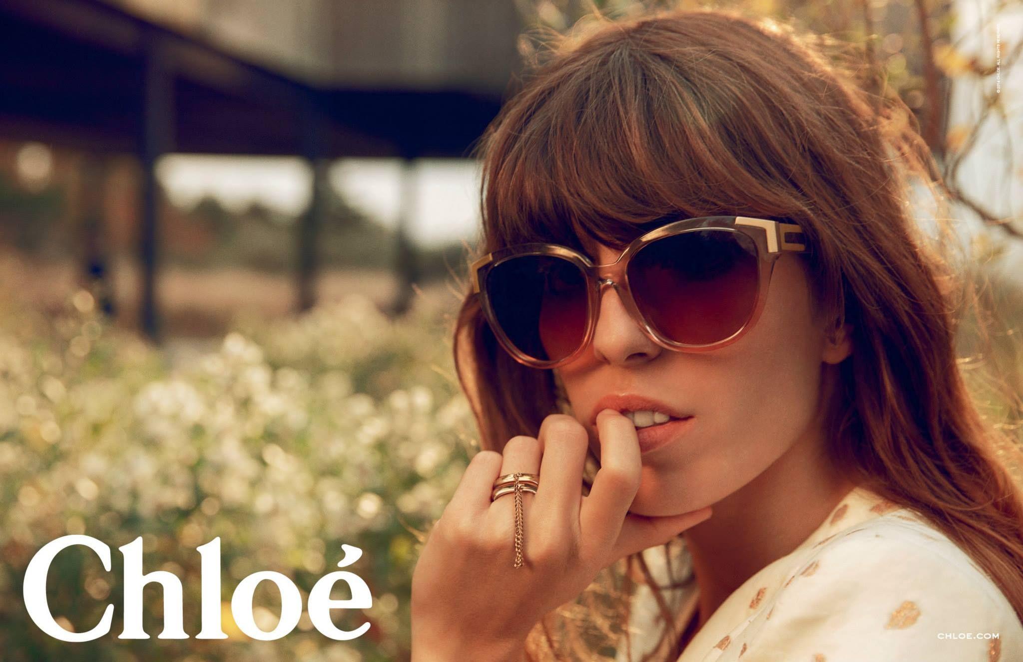 ☆ Lou Doillon | Photography by Inez & Vinoodh | For Chloe Campaign | Spring 2014 ☆ #loudoillon #inezandvinoodh #chloe #2014