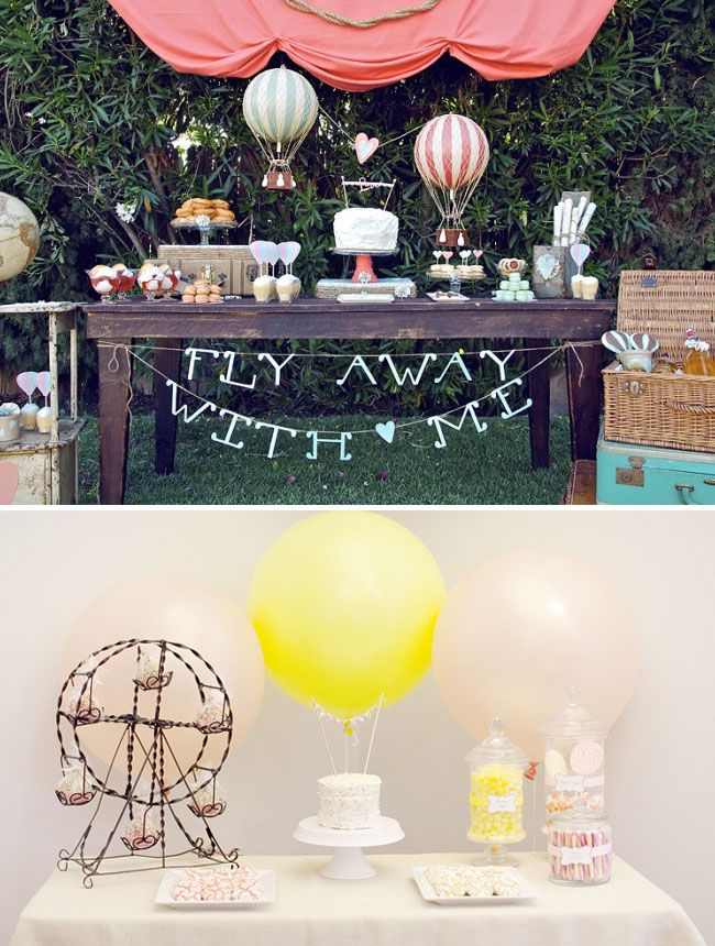 Head Over Heels For Hot Air Balloon Wedding Ideas Walk Me Down