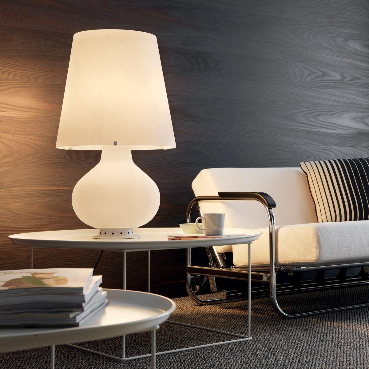 Fontana Table Lamp In 2020 White Table Lamp Table Lamp Lamp