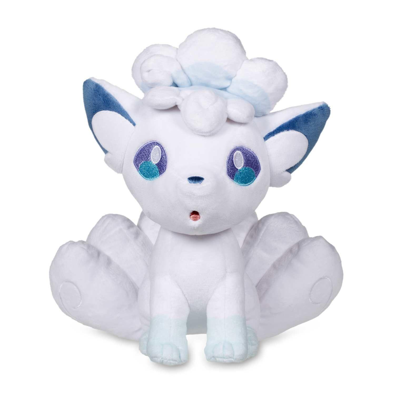 Pokemon Alolan Alola Vulpix Soft Plush Stuffed Doll Set Of 2