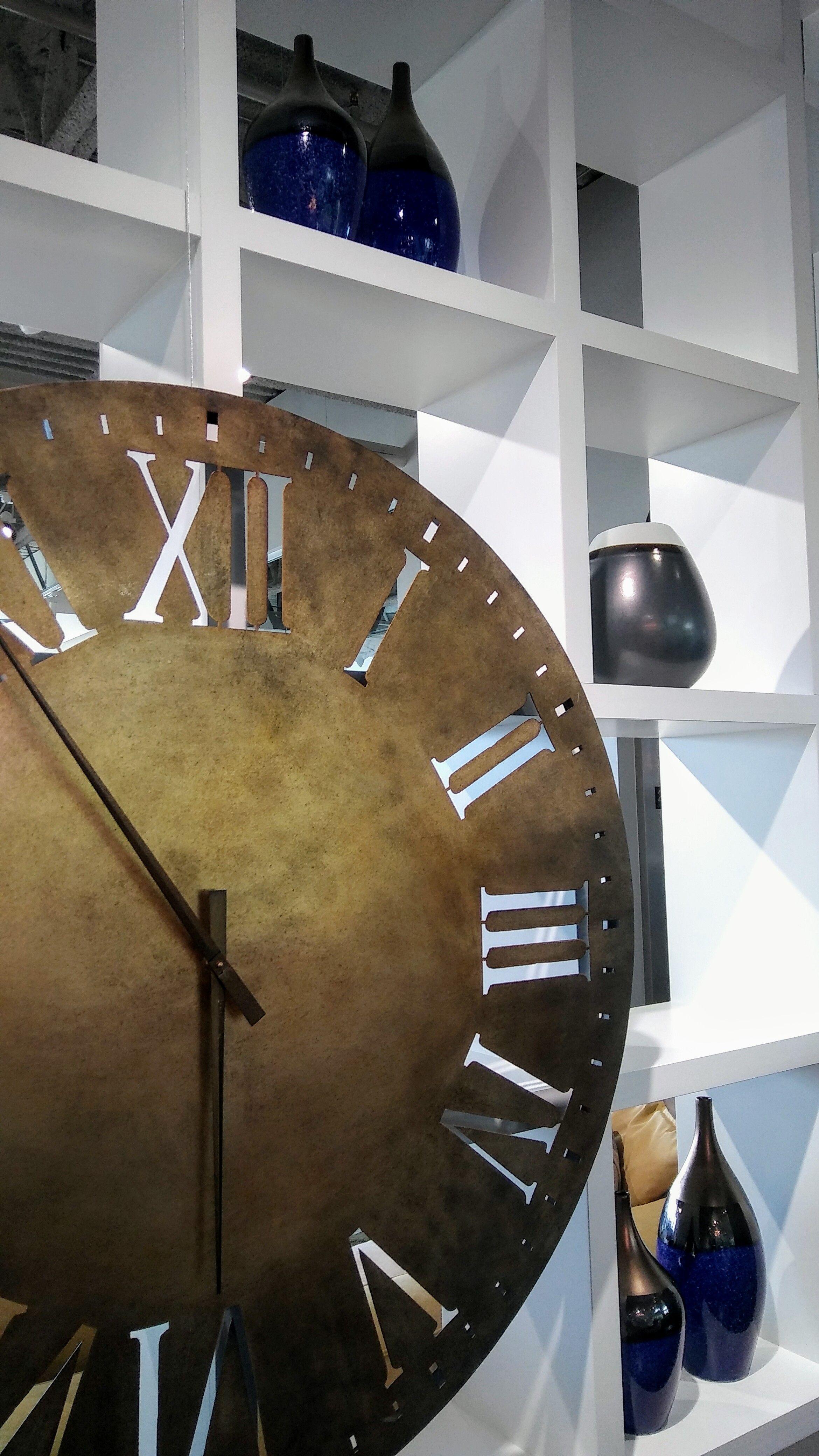 Horloge Avec Chiffres Romain Argentes Mobilier De Salon Horloge Chiffres Romains